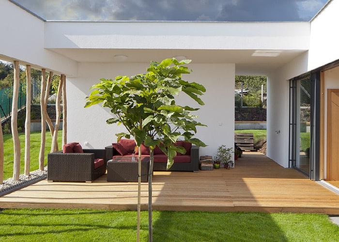Produktbild Terrassendielen aus heimischem Massivholz